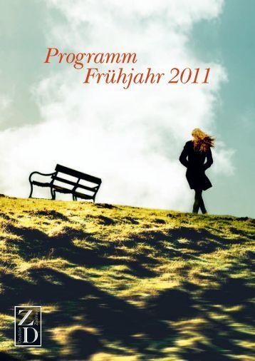 Programm Frühjahr 2011 - Hanser Literaturverlage