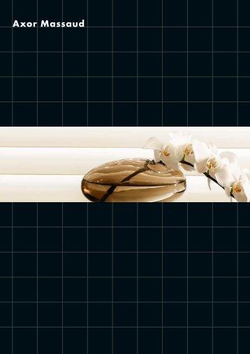 brochures Axor Massaud - Hansgrohe