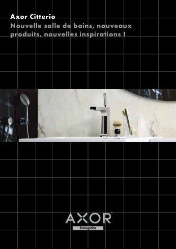 Axor Citterio Nouvelle salle de bains, nouveaux ... - Hansgrohe