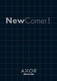 NewComer 2011 Magazin - Hansgrohe