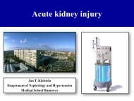 Acute kidney Injury - Budapest Nephrology School