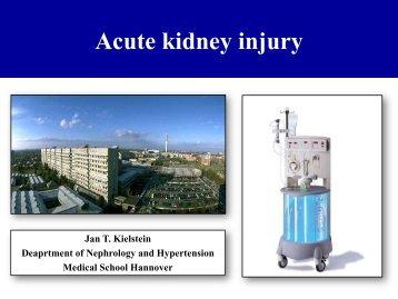 Acute kidney Injury - Budapest Nephrology School