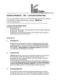 Baubeschreibung H 6+7 - Hans Keller Bauunternehmung GmbH ...