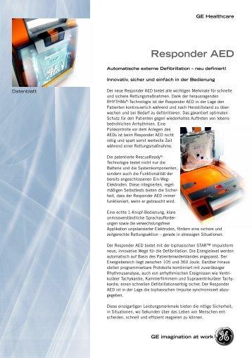 Responder AED spec german