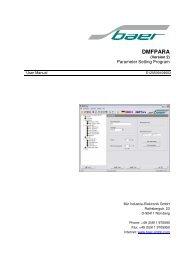 DMFPARA - Baer Gmbh