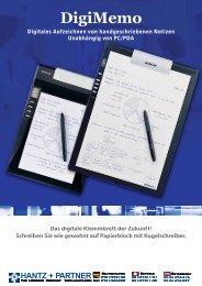 DigiMemo Prospekt, deutsch, PDF 202 K