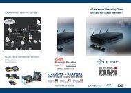 HDI Dune Gesamtbroschüre (Deutsch, PDF 3 MB)