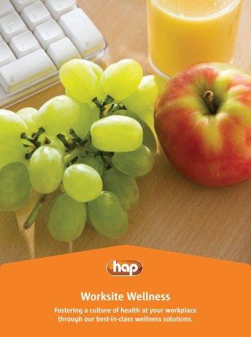 HAP's Worksite Wellness Worksite Wellness - Hap.org