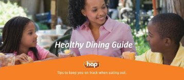 Healthy Dining Guide - Hap.org