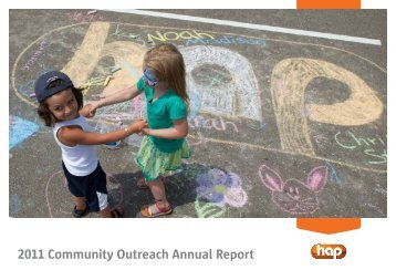 2011 Community Outreach Annual Report - Hap.org
