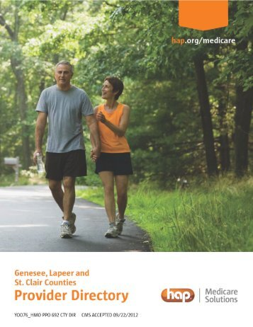 Genesee, Lapeer and St. Clair Counties Provider Directory - Hap.org