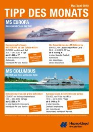 MS EurOPA MS COluMBuS