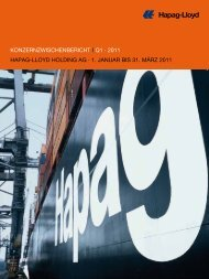 Konzernzwischenbericht i Q1 · 2011 hapag-lloyd holding ag · 1 ...
