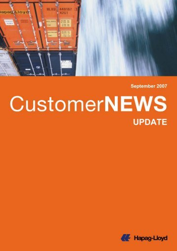Update on CP Ships Integration UPDATE - Hapag-Lloyd