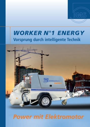 WORKER N°1 ENERGY - BMS Bau-Maschinen-Service AG