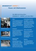 WORKER N°1 ENERGY - BMS Bau-Maschinen-Service AG - Page 2