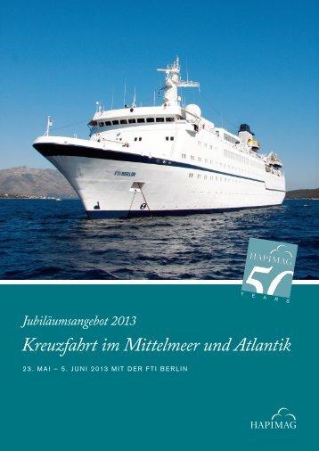 Kreuzfahrt im Mittelmeer und Atlantik - Hapimag