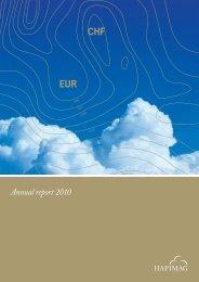 Annual report 2010 - Hapimag