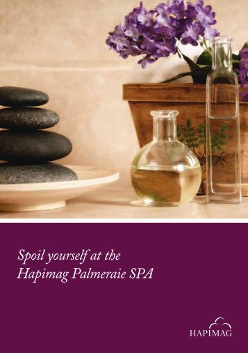Spoil yourself at the Hapimag Palmeraie SPA