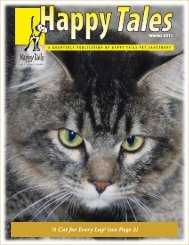 'A Cat for Every Lap' (see Page 3) - Happy Tails - Pet Sanctuary