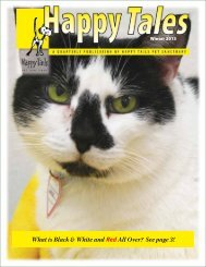 What is Black & White and Red All Over? See page 3! - Happy Tails ...