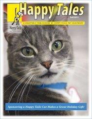 Happy Tales Fall 2011 - Happy Tails - Pet Sanctuary