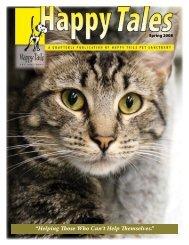 Spring 2008 - Happy Tails - Pet Sanctuary