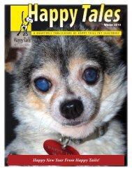 Winter 2010 - Happy Tails - Pet Sanctuary