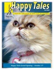 October 17! - Happy Tails - Pet Sanctuary