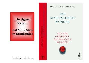 Seit Mitte März im Buchhandel - von Harald Klimenta