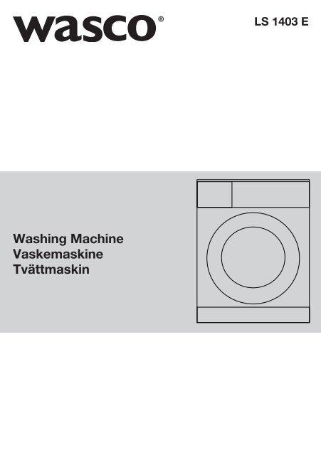Vaskemaskine LS1403E - Harald Nyborg