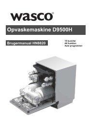 Opvaskemaskine D9500H Wasco - Harald Nyborg