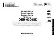Pioneer DEH 6300SD - Harald Nyborg