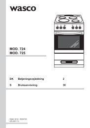 WASCO komfur M724 - Harald Nyborg