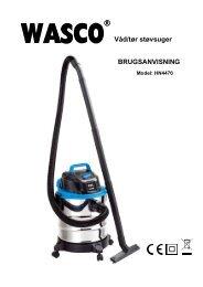 WASCO støvsuger - Harald Nyborg