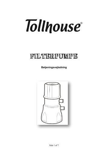 manual til filterpumpe - Harald Nyborg