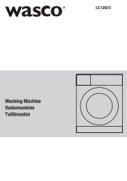 Vaskemaskine LS1203E - Harald Nyborg