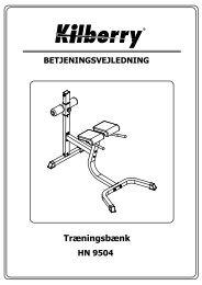 Dansk brugsanvisning - Harald Nyborg