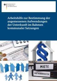 Arbeitshilfe zur Bestimmung der angemessenen Aufwendungen der ...