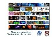 Bienal Internacional de Cine Científico, Ronda 2014