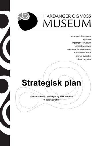Strategisk plan - Hardanger og Voss Museum