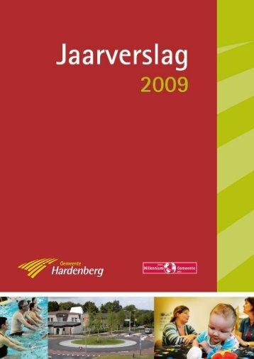 Jaarverslag 2009 - Gemeente Hardenberg