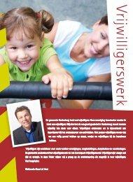 Folder vrijwilligerswerk - Gemeente Hardenberg