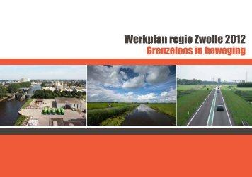 Werkplan regio Zwolle 2012 [PDF 704kb] - Gemeente Hattem