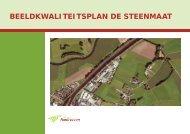 BEELDKWALITEITSPLAN DE STEENMAAT - Gemeente Hardenberg