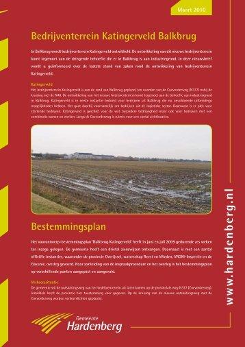 Nieuwsbrief maart 2010 (PDF, 781 kB) - Gemeente Hardenberg