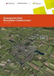 Strategische Visie Masterplan Dedemsvaart - Gemeente Hardenberg
