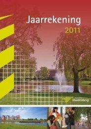 Jaarrekening 2011 - Gemeente Hardenberg