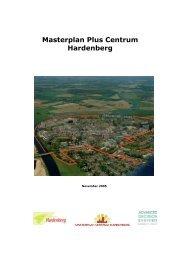 Masterplan Plus Centrum Hardenberg (PDF, 7,2 MB - Gemeente ...