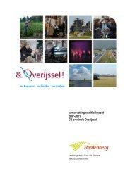 Samenvatting coalitieakkoord - Gemeente Hardenberg